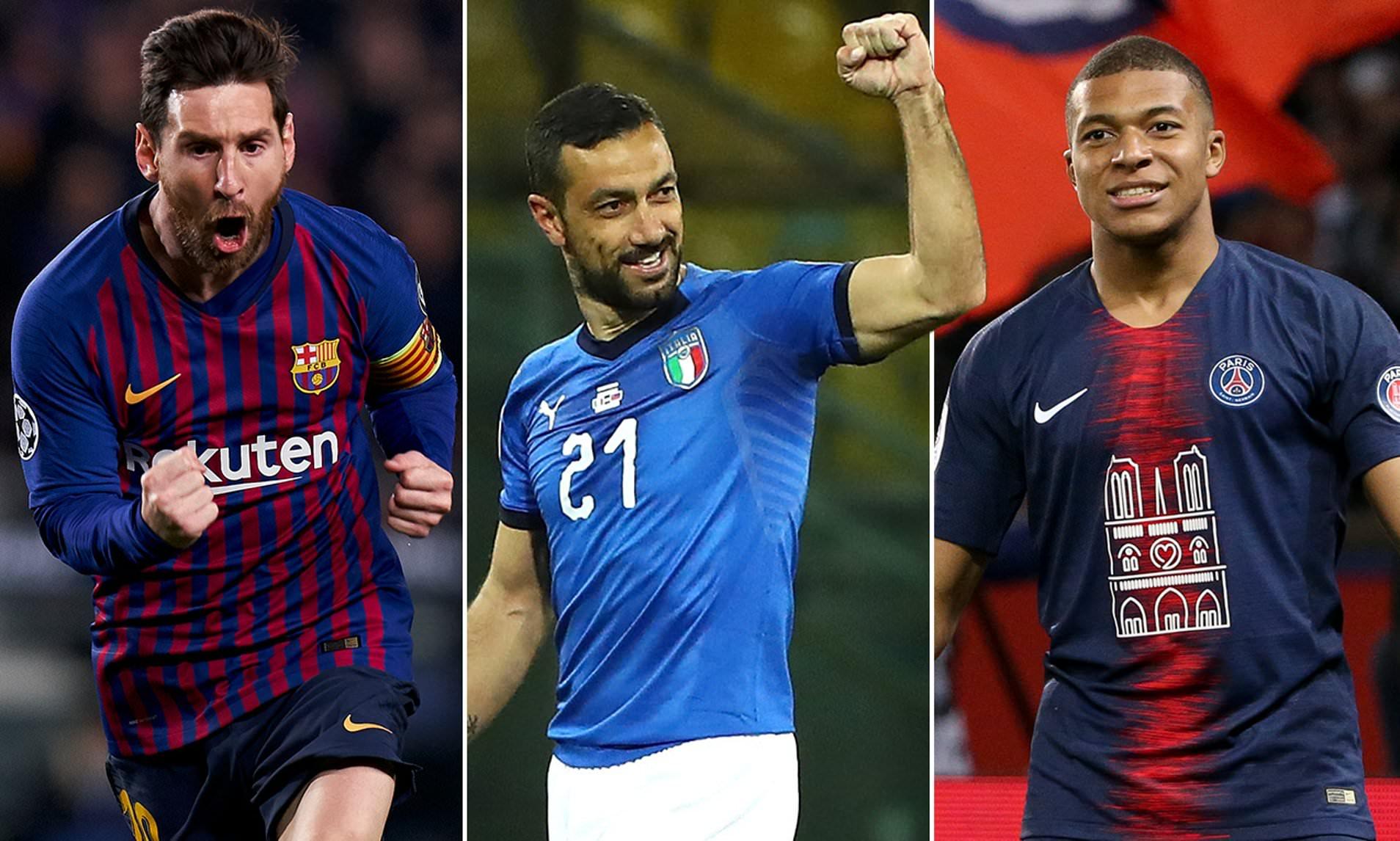 Messi, Mbappe, dan Ronaldo, siapa calon peraih Golden Boots 2019?