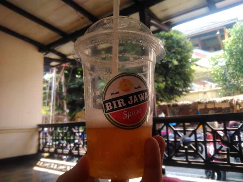 Uniknya Bir Jawa, minuman tanpa alkohol khas Keraton Yogyakarta