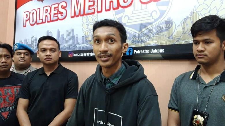 Pemotor viral pukul pejalan kaki di trotoar Jakpus ditangkap