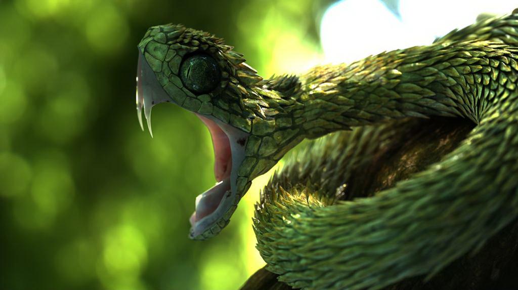 Inilah 6 jenis ular dengan bentuk paling unik dan menarik