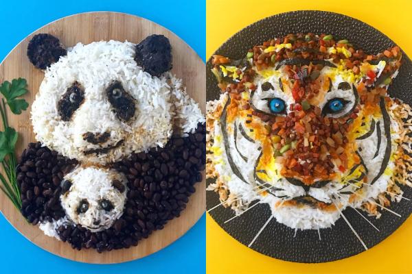 10 Makanan berbentuk karakter hewan ini unik & keren banget