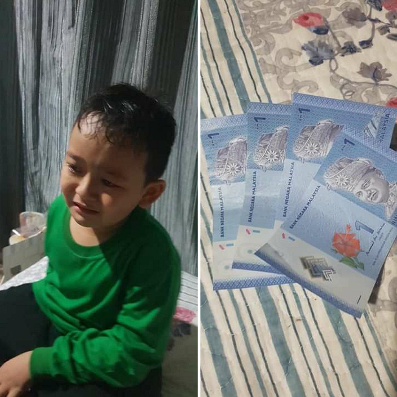 Seorang anak asal Malaysia gandakan uang jajan, ini yang dilakukannya