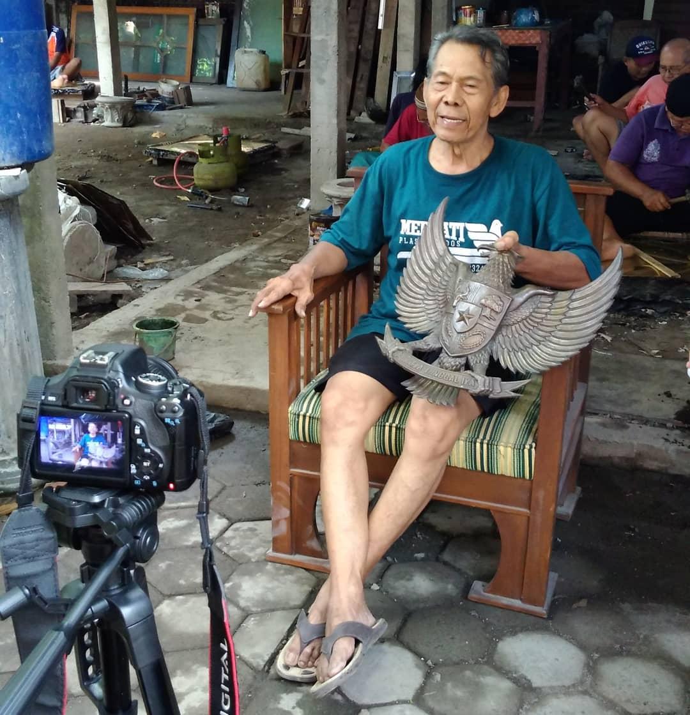 Kerajinan kriya logam di Kotagede, warisan budaya lokal Yogyakarta