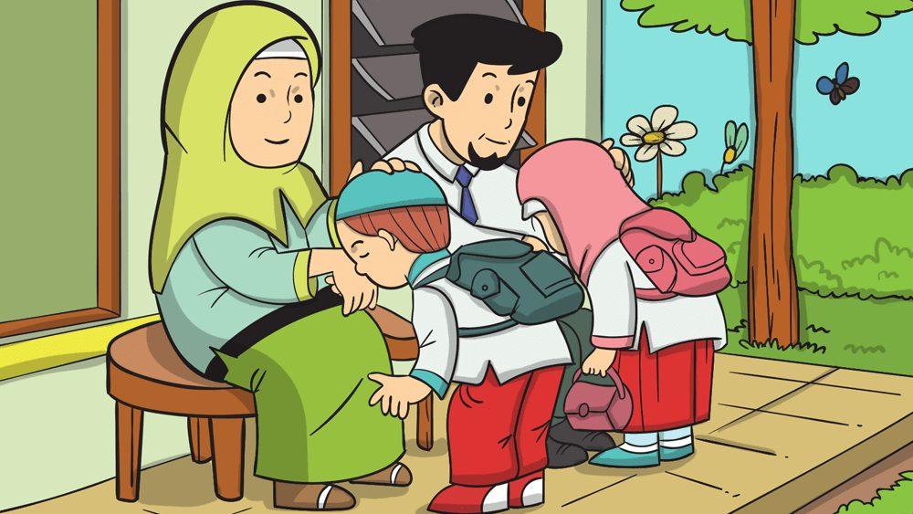 4 Adab anak kepada orang tua menurut ajaran Islam