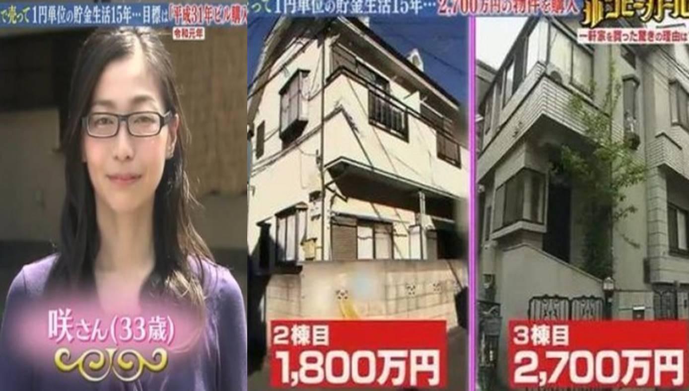 Hidup super irit, wanita ini mampu beli rumah seharga miliaran rupiah