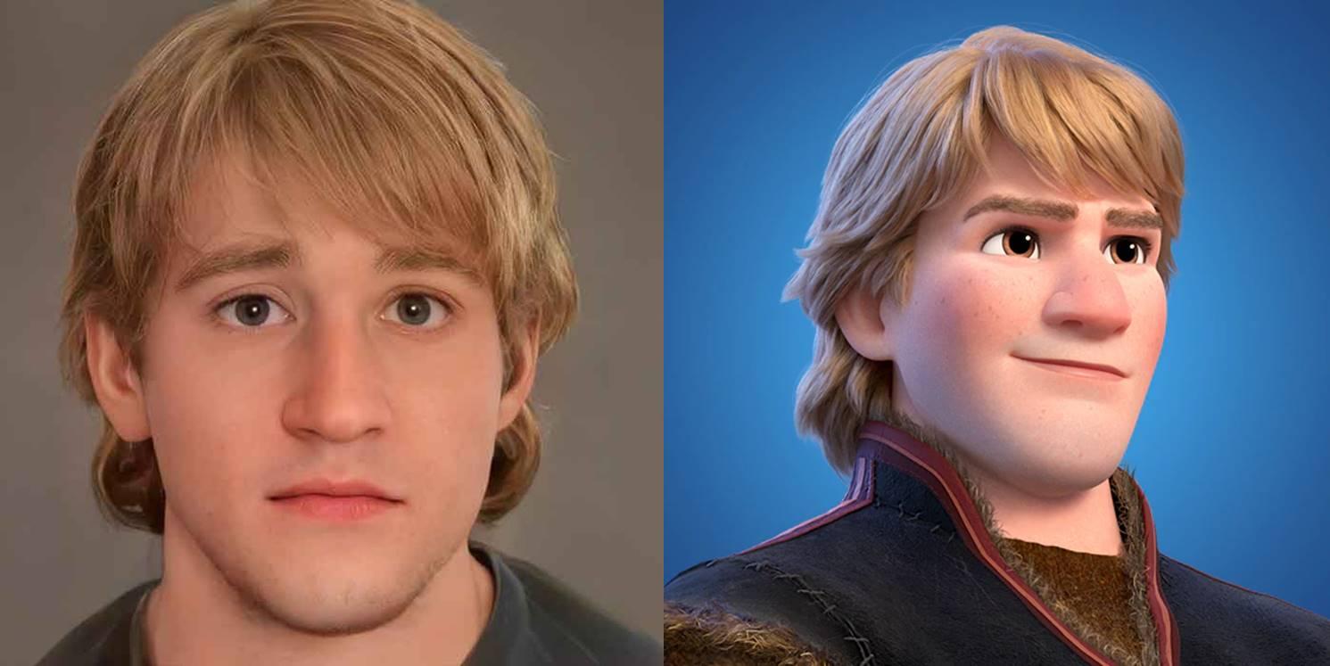 Ciptakan ulang karakter Disney versi nyata, karya ilustrator ini viral