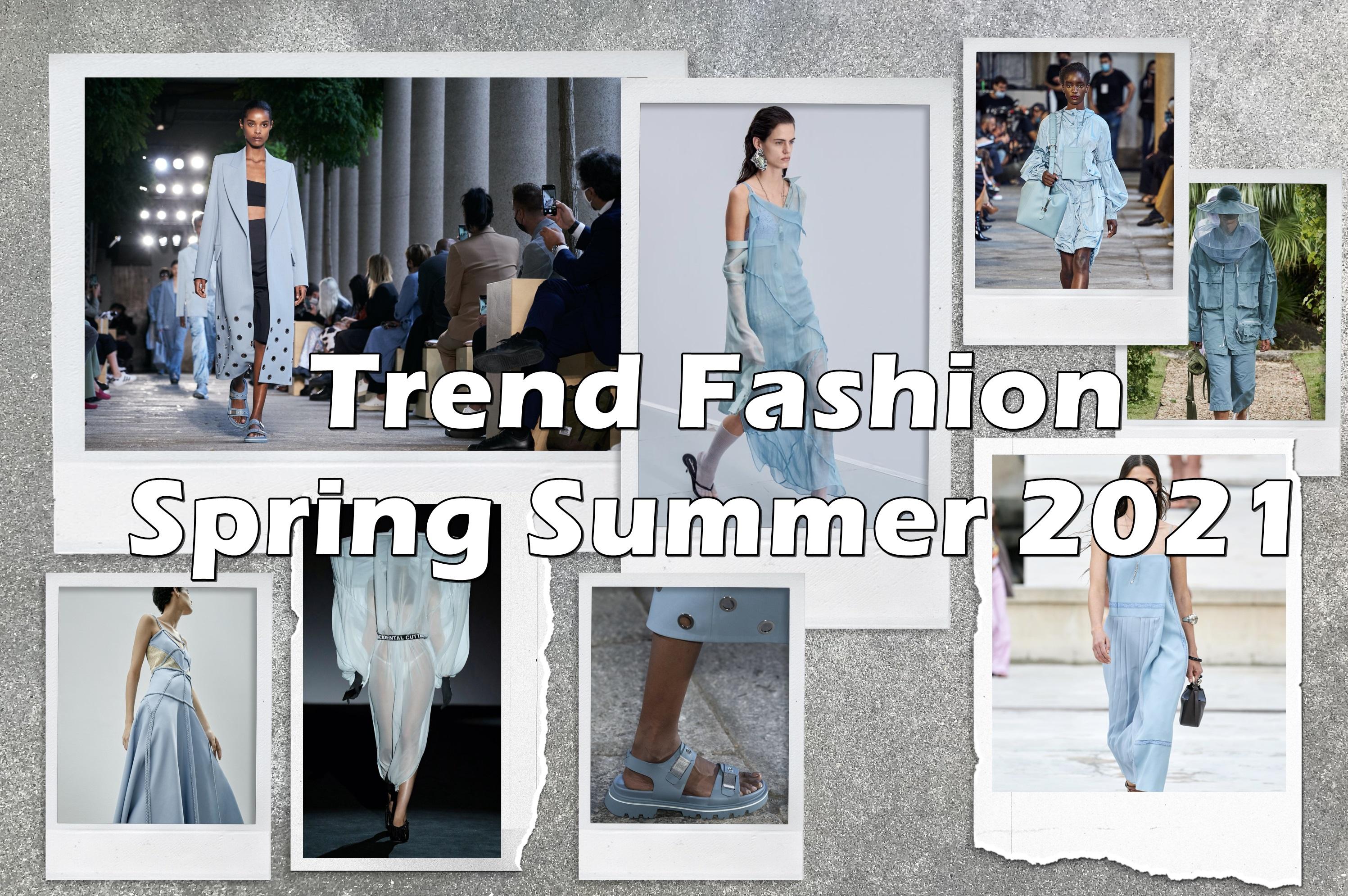 8 Tren fashion musim Spring Summer 2021, makin unik dan nyeleneh