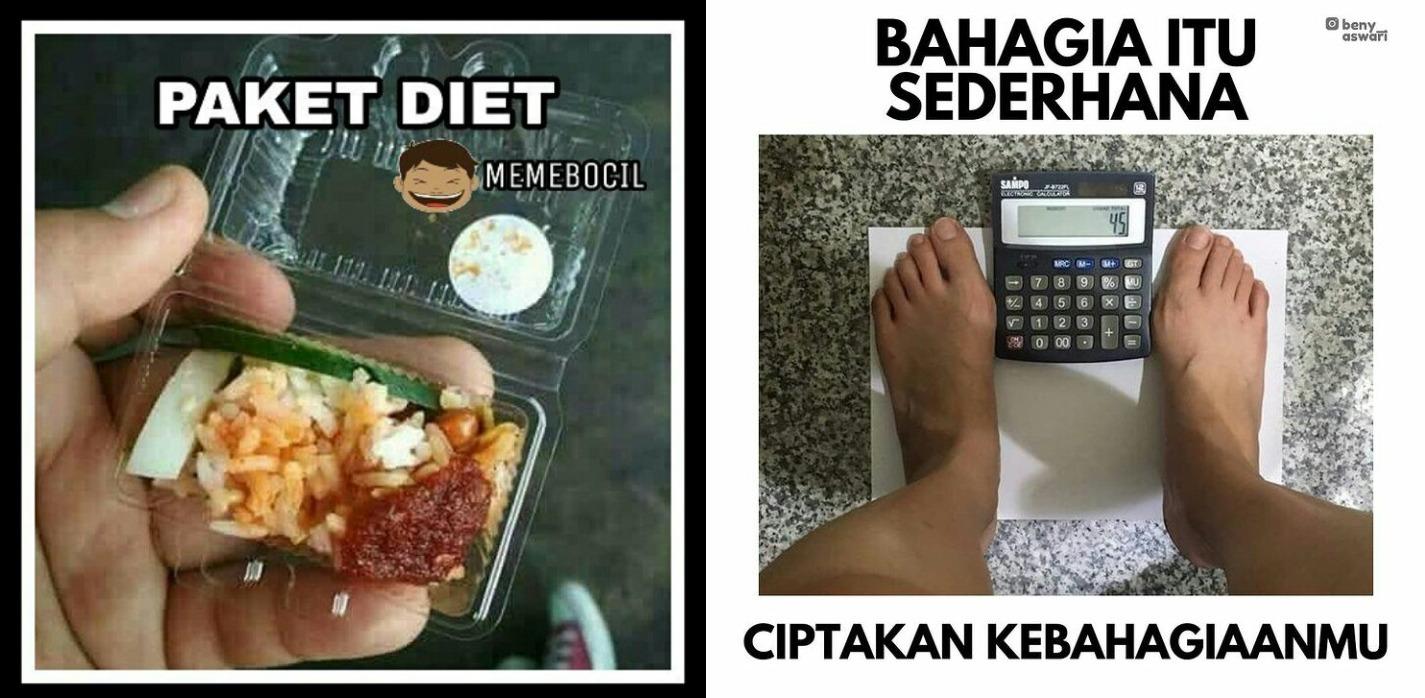 10 Meme lucu orang diet ini sesuai banget dengan kenyataan