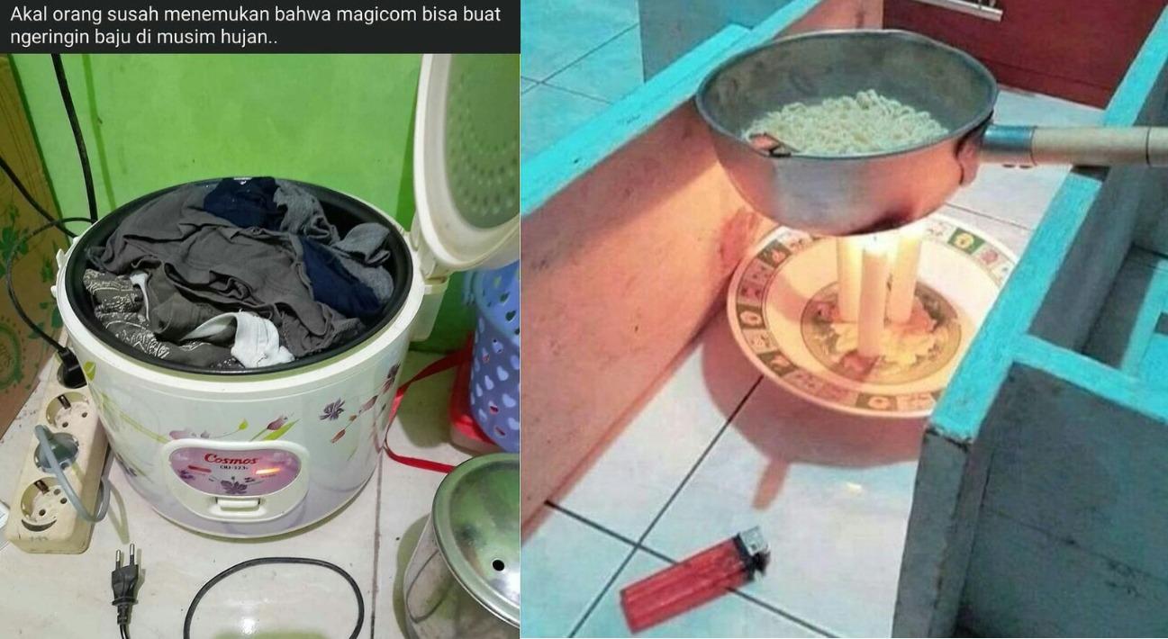 9 Life hacks ala orang Indonesia saat mengatasi masalah keseharian