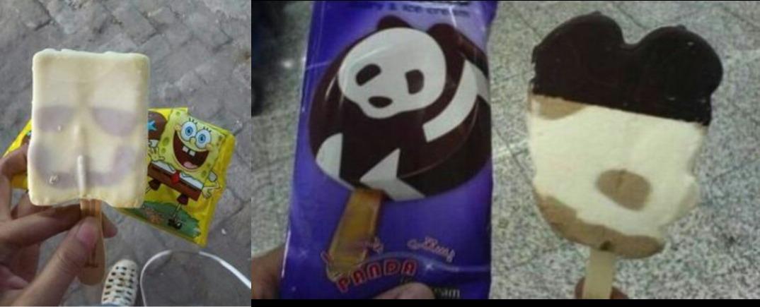 10 Penampakan es krim yang tak sesuai harapan ini bikin melongo