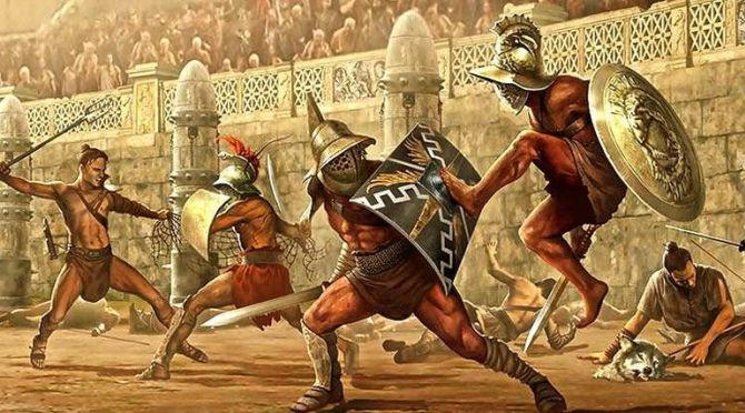 gladiatorial conquests as public entertainment essay The rise of the mongols and the beginnings of the mongol conquests arose mongol invasion on the muslim world was entertainment—that the public.