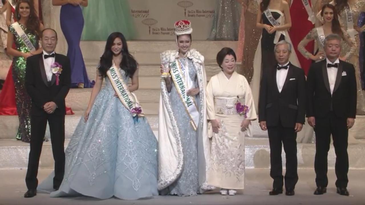 Kabar gembira! Kevin Liliana sabet gelar Miss International 2017