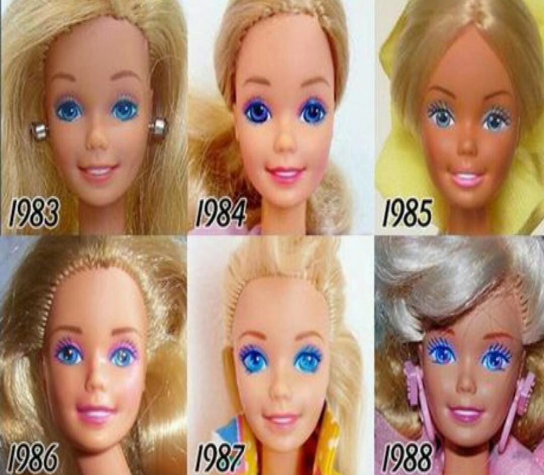10 Penampakan Boneka Barbie Dari Masa Ke Terbaru Cantik B Barby Banget