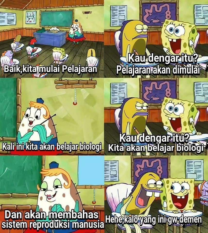 Meme Lucu Spongebob Squartpants Dijamin Bikin Ngakak