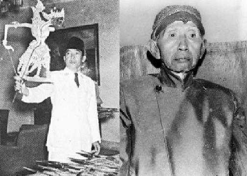 Presiden Soekarno dan Ki Gitosewoko