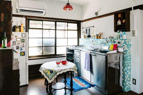 7 desain dapur dan ruang makan minimalis ala jepang jadi for Kitchen set jadi
