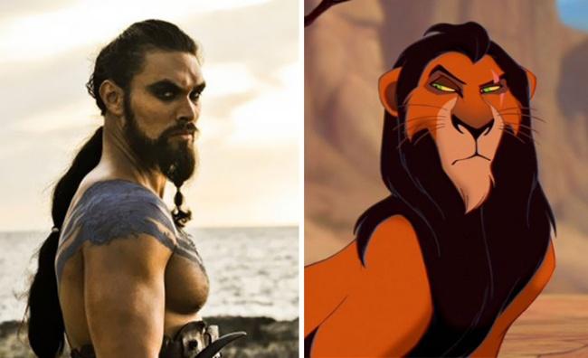 17 Karakter kartun yang ditemui dalam kehidupan nyata, nggak sangka