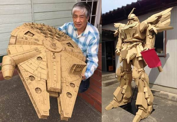Tak disangka, 10 karya seni kreatif ini cuma dibuat dari sampah