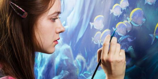 Ini 7 manfaat karya seni untuk otak manusia, tingkatkan kemampuan mata