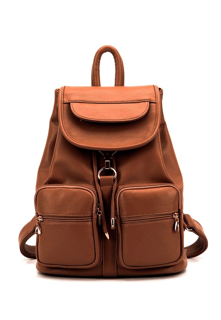 Women's Beibaobao Elain Backpack TSX559 Brown by Vernyx