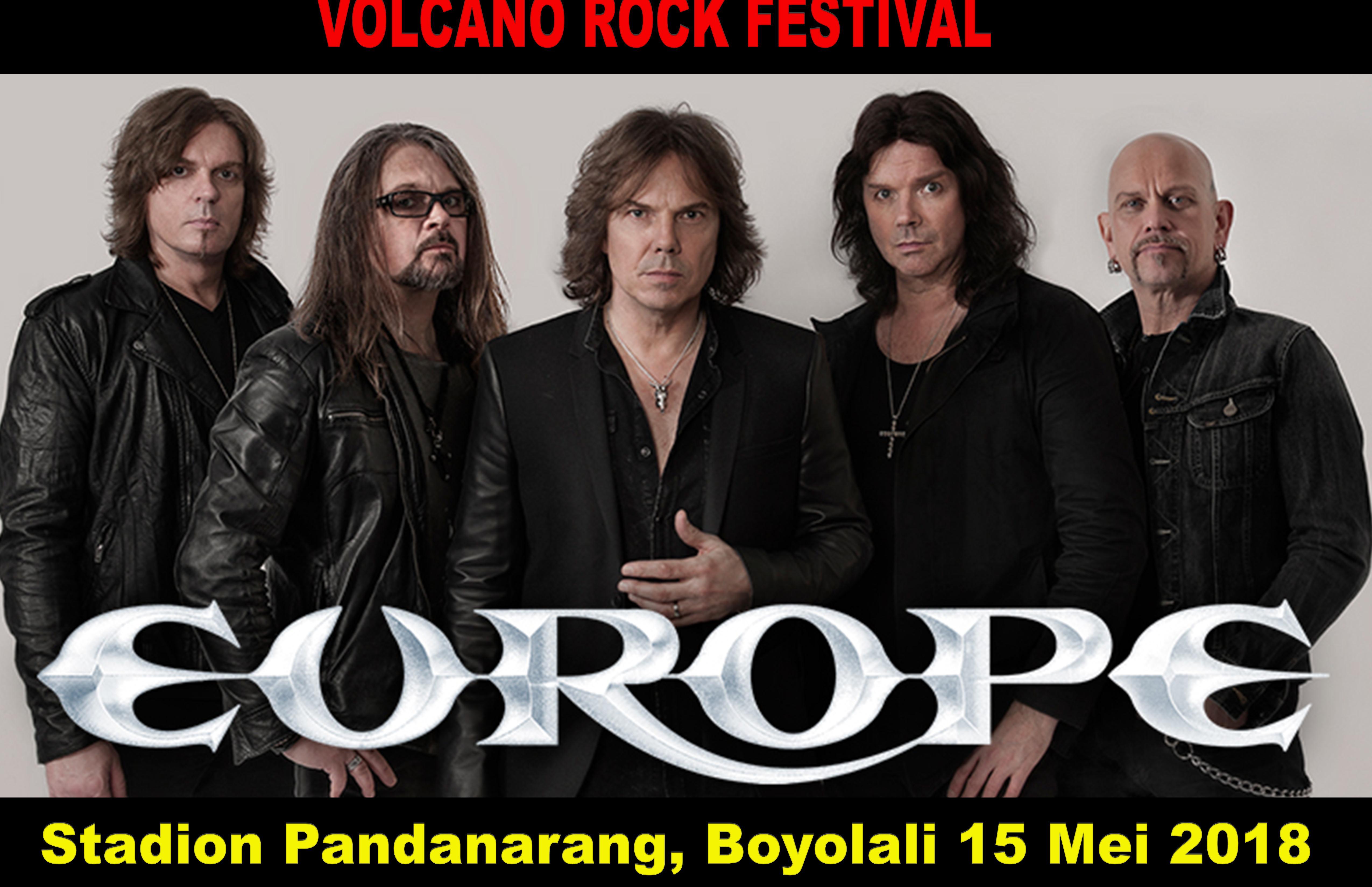 Band rock Europe bakal guncang Boyolali Mei 2018, catat tanggalnya