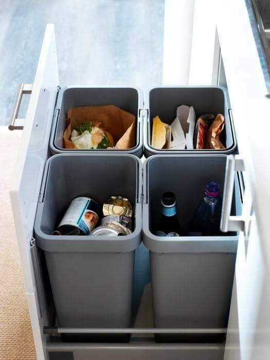 4 jenis tempat sampah