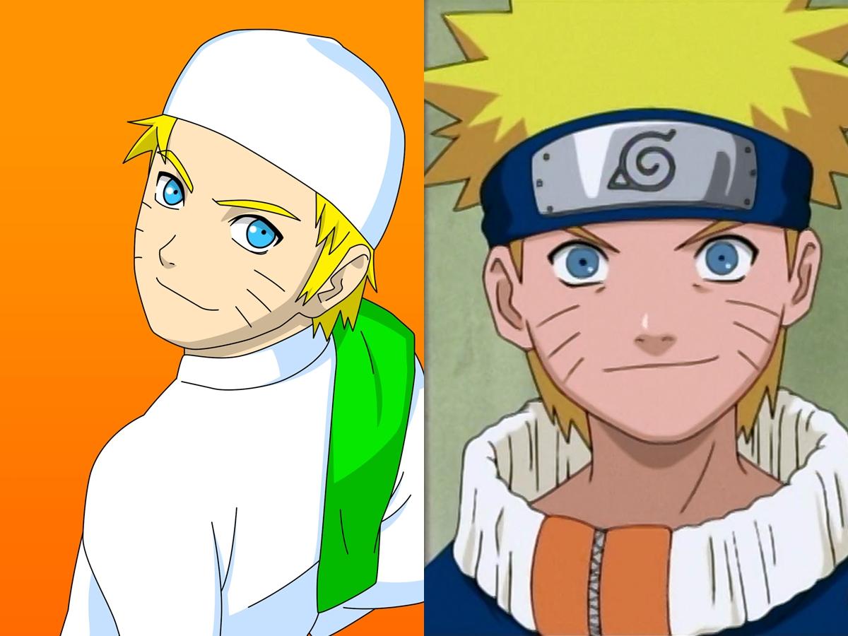 14 Karakter Di Film Naruto Dalam Balutan Hijab Dan Serban Lucu D