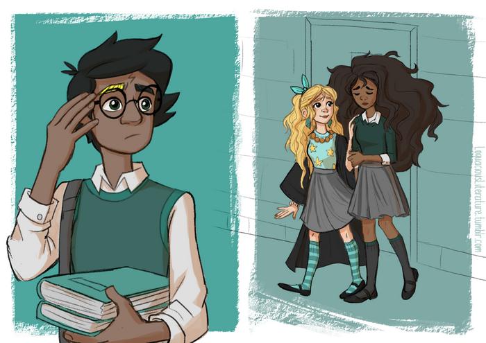 7 Ilustrasi cerita penting Harry Potter yang tak dimuncukan di film