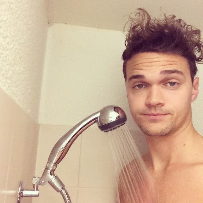 Showernya kependekan
