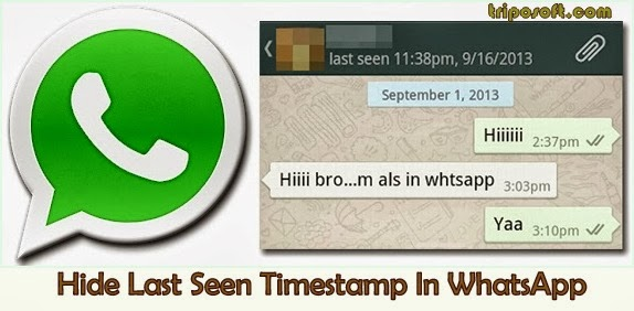 Last Seen di WhatsApp