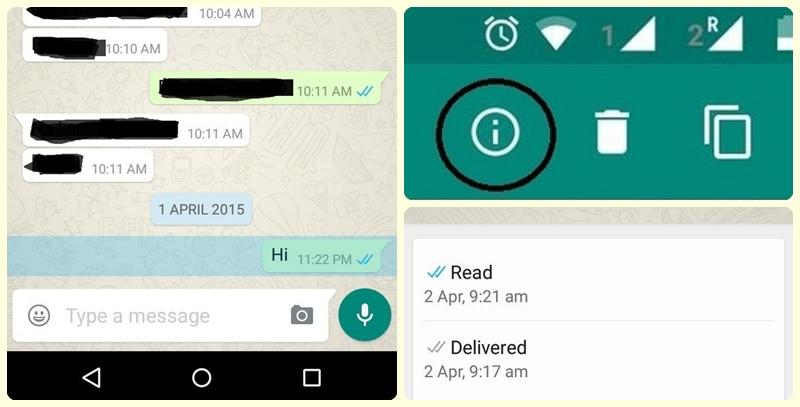 Centang Biru di WhatsApp
