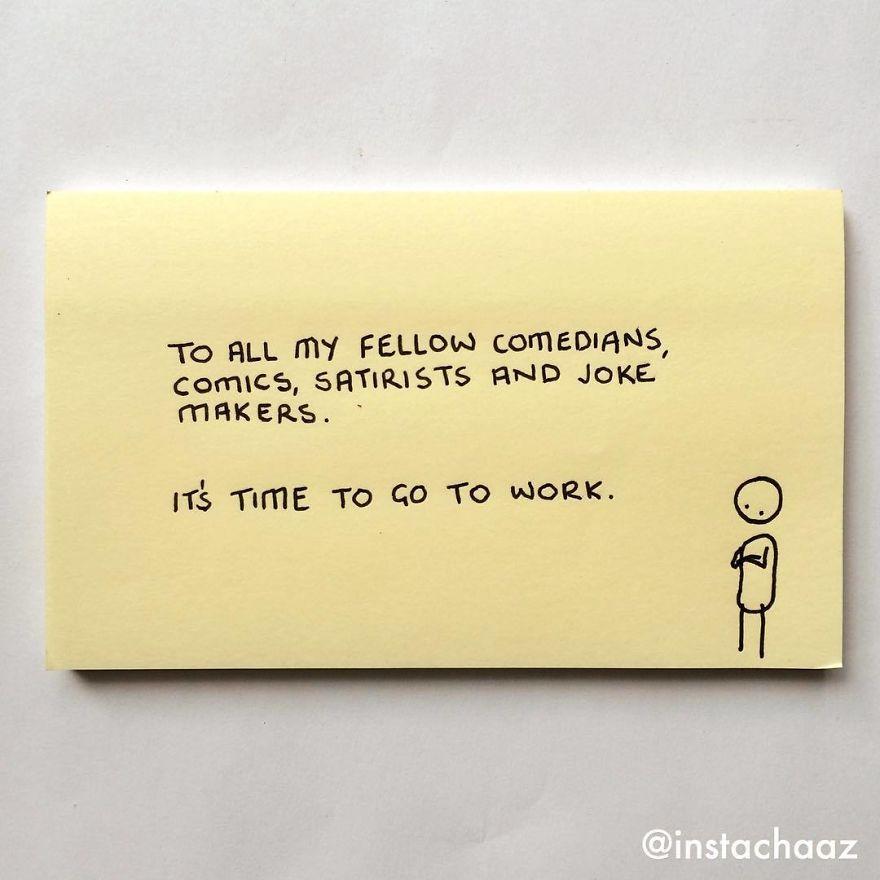 10 Sticky notes ini gambarkan perjuangan kedewasaanmu