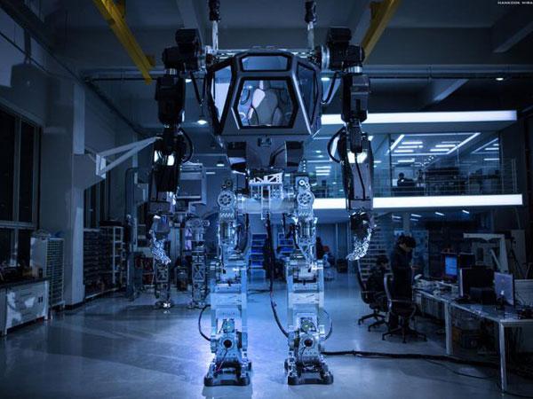 Robot buatan Korea Future Technology.asal Korsel