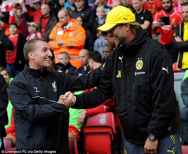 Rodgers dan Klopp