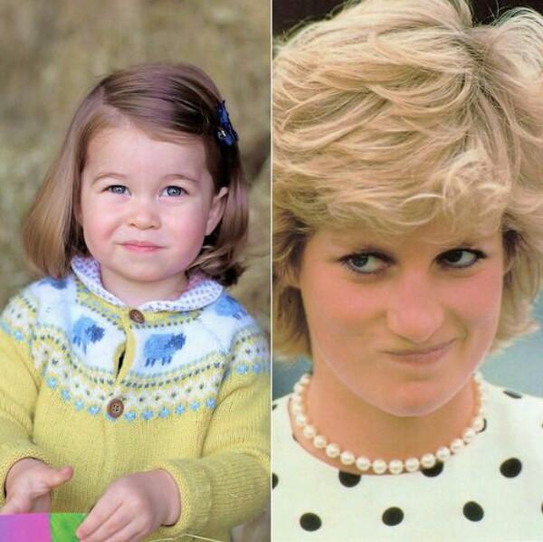 Kembar beda zaman, ini 9 foto kemiripan Putri Charlotte dan sang nenek