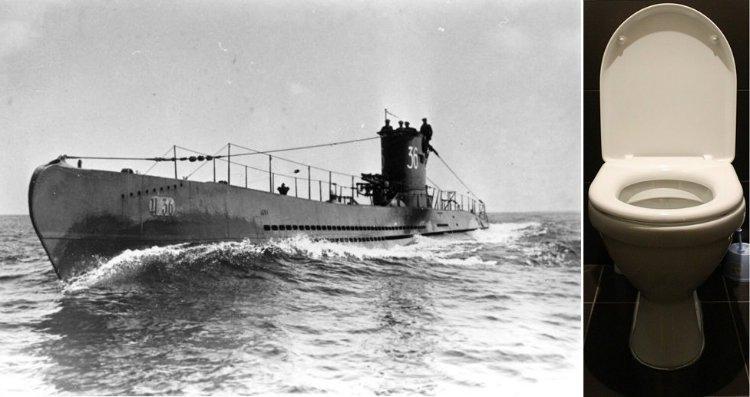 kapal selam dan toilet