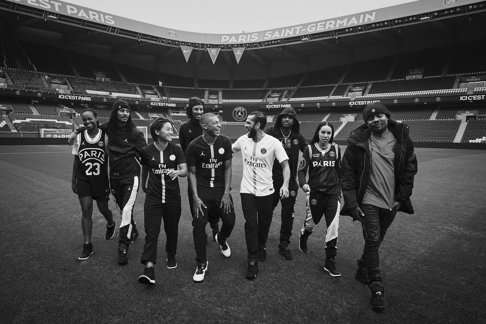 Paris Saint Germain Berkolaborasi Dengan Brand Jordan