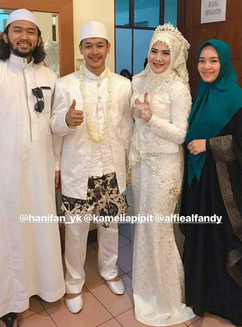 Resmi menikah, ini 15 potret pernikahan pesilat Hanifan & Pip