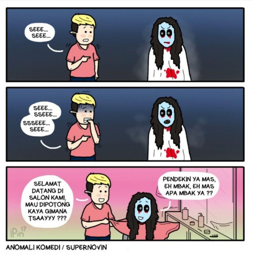 11 Komik Lucu Tentang Hantu Ini Bakal Bikin Kamu Gak