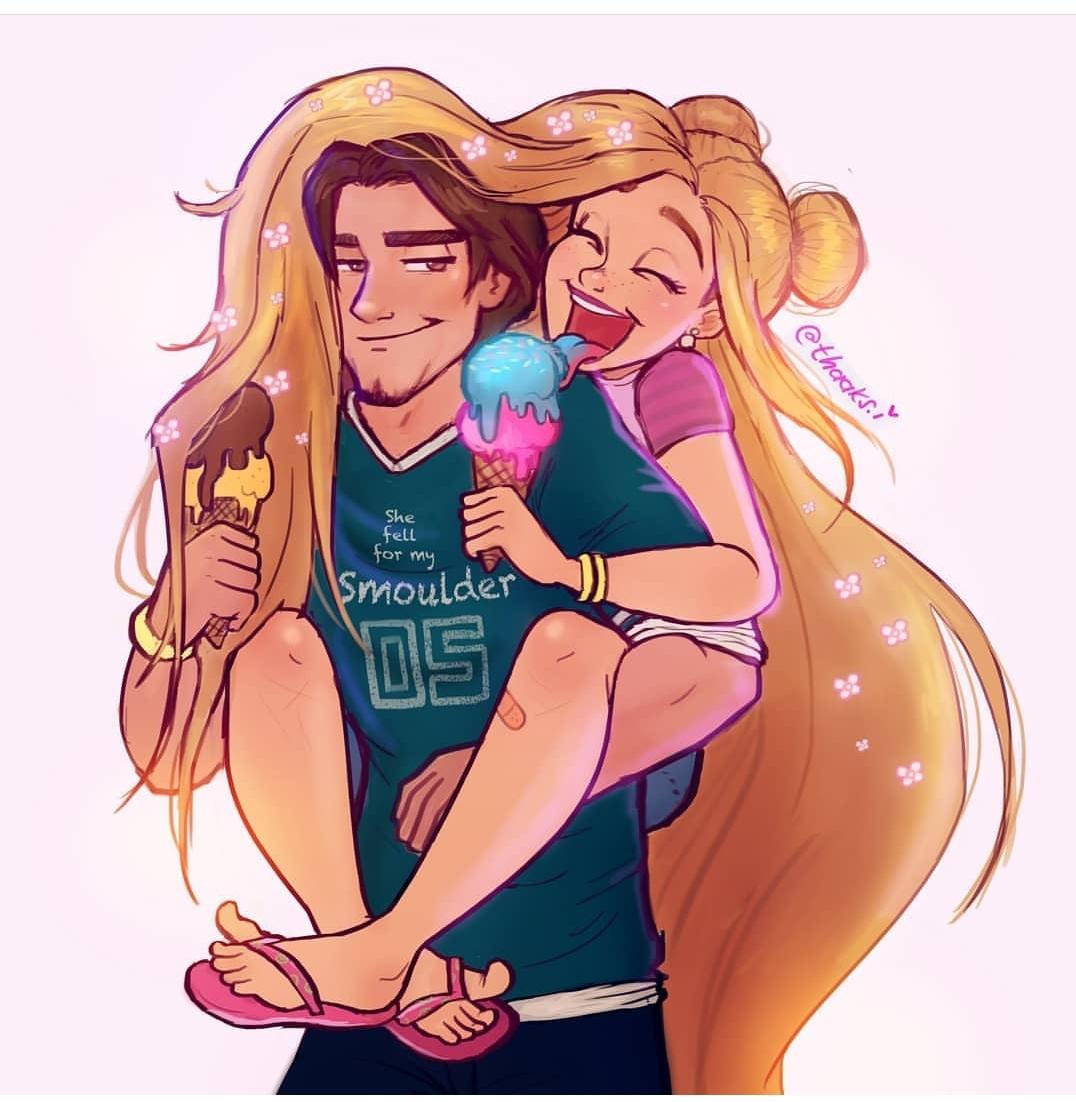 Begini jadinya kalau para putri Disney tampil casual, gayanya keren
