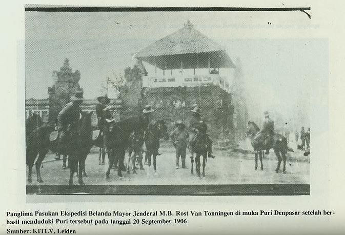 Tragedi Puputan Badung: Bunuh diri massal rakyat Bali tahun 1906