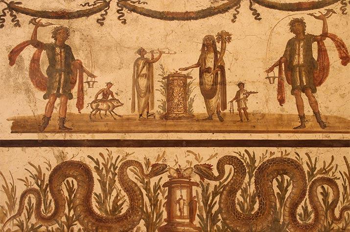 Pompeii's Painted Lararium