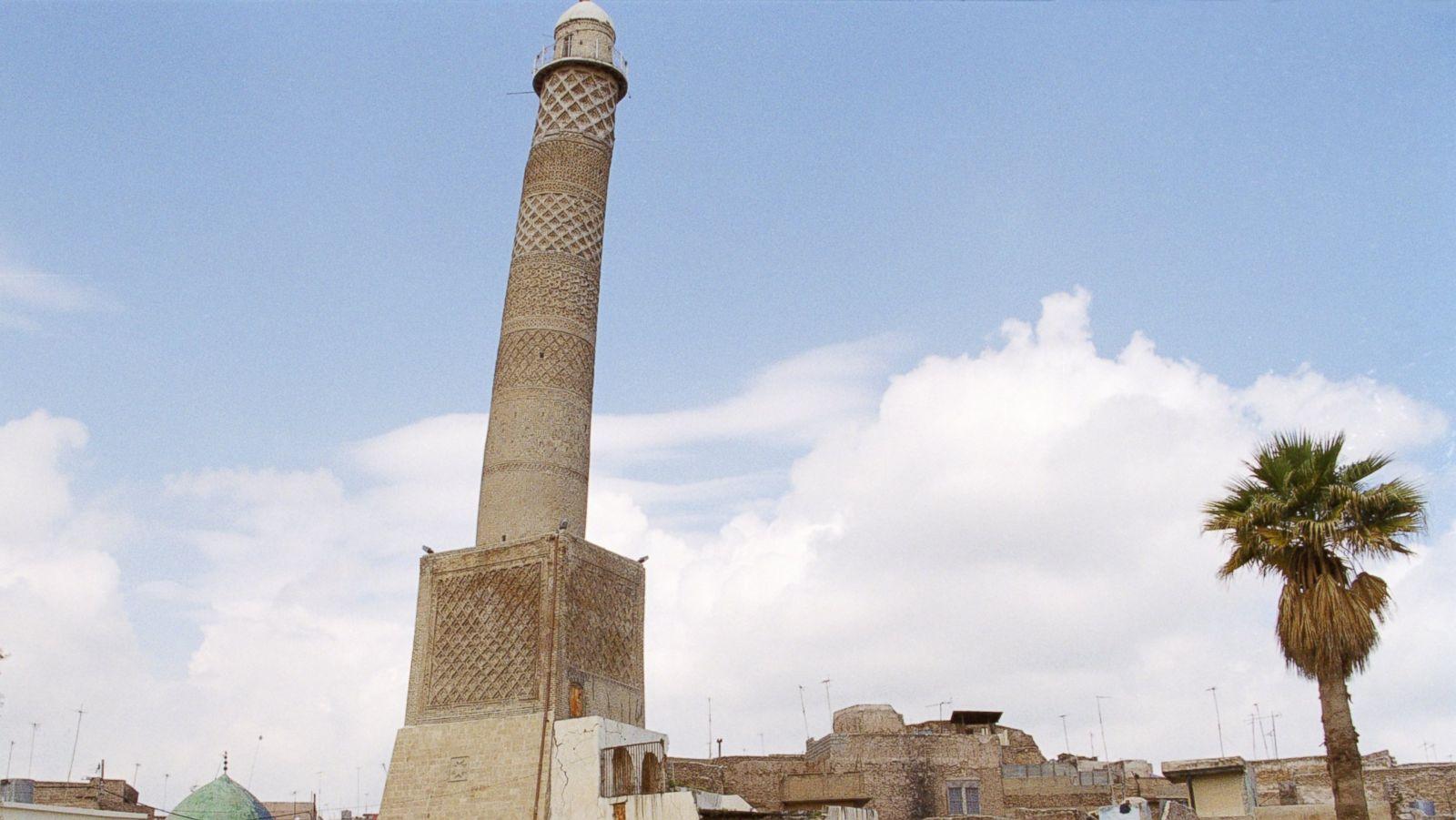 MInaret of the Great Mosque of Al-Nuri Mosul