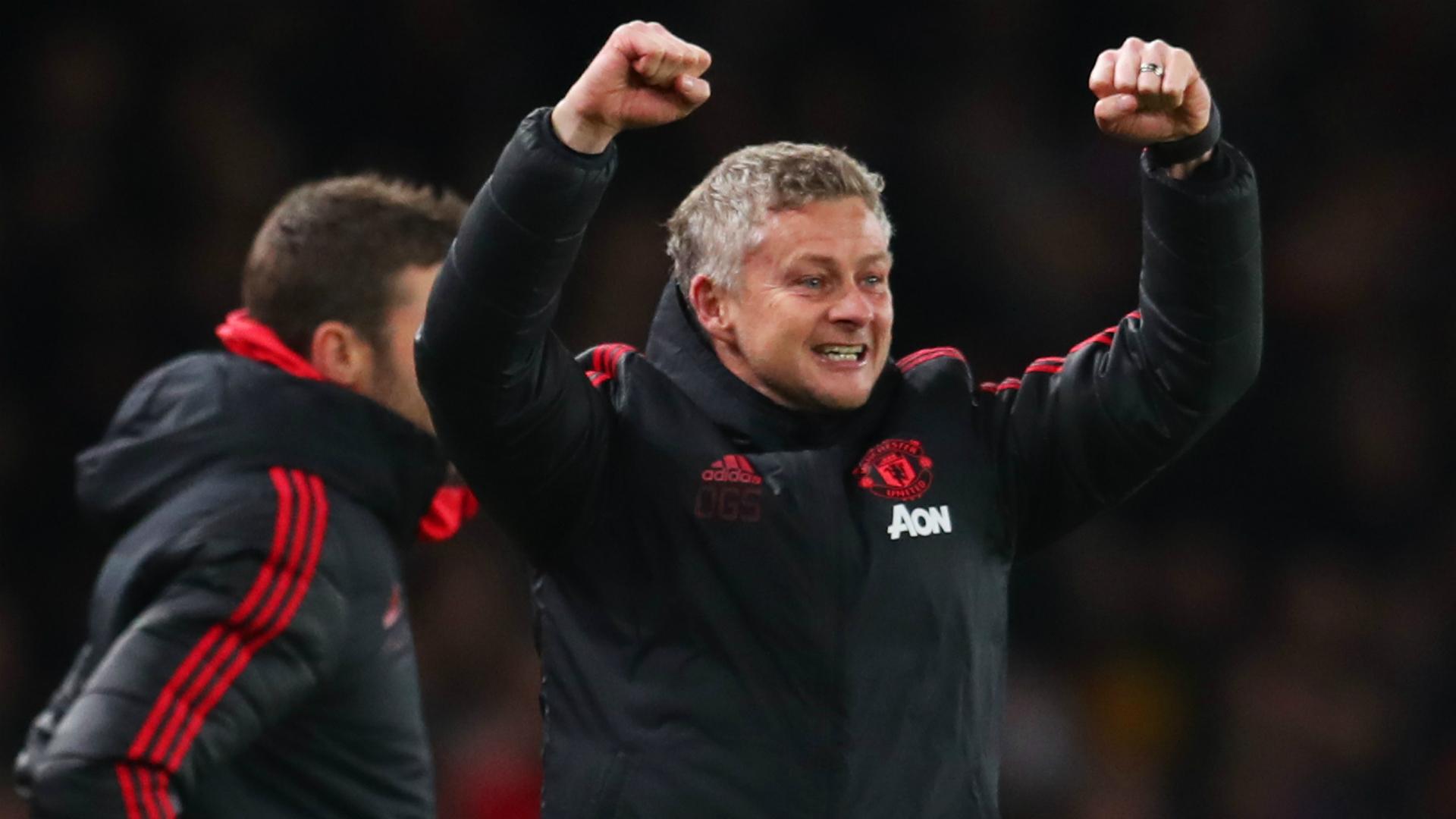 Manajer interim Manchester United, Ole Gunnar Solskjaer