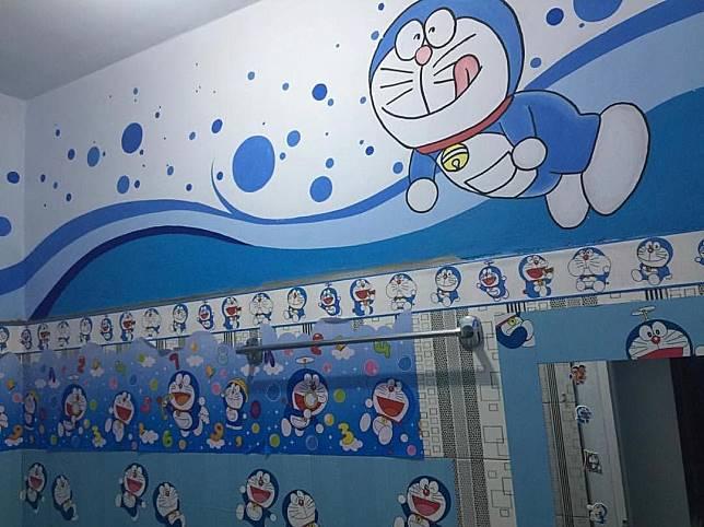 10 Potret rumah bertema Doraemon ini ada di Bitung, Sulawesi Utara