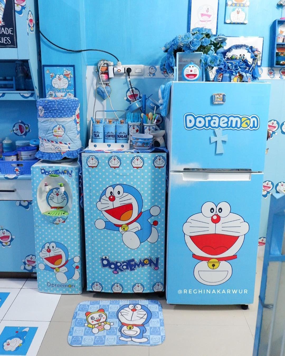 10 Potret Rumah Bertema Doraemon Ini Ada Di Bitung Sulawesi