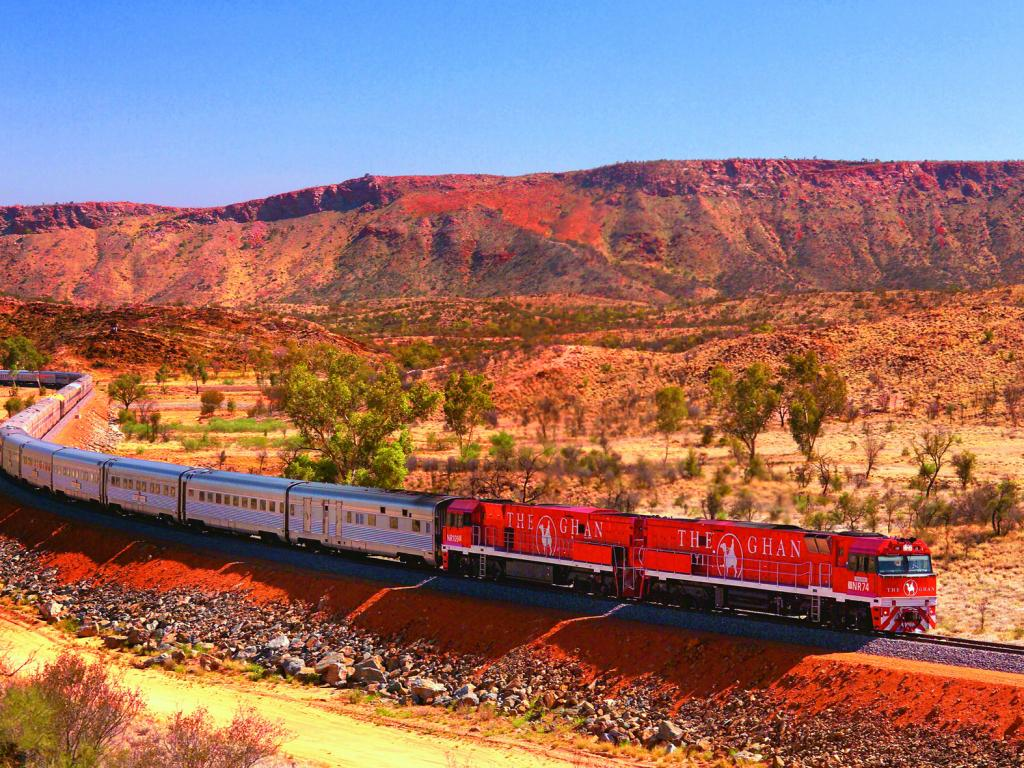 The Ghan Journey