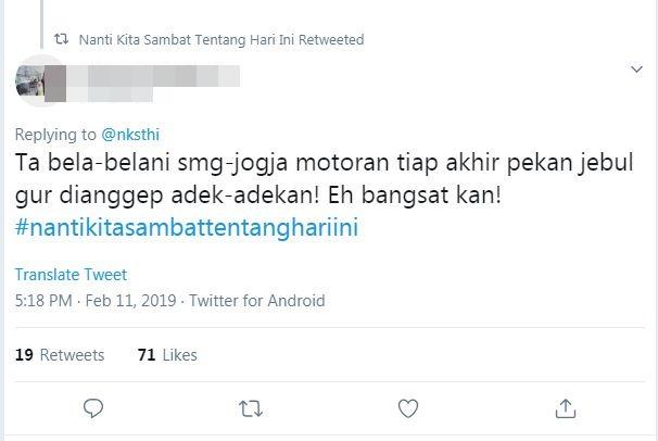 adek kakak zone https://mobile.twitter.com/search?q=%23nantikitasambattentanghariini&src=trend_click