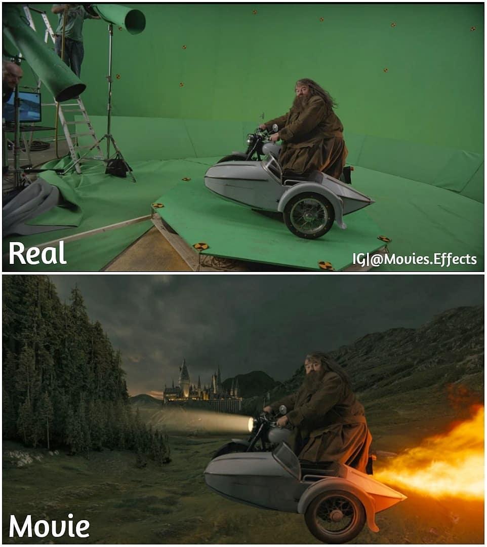 12 Potret Sebelum & Sesudah Menggunakan Visual Effect, Beda B