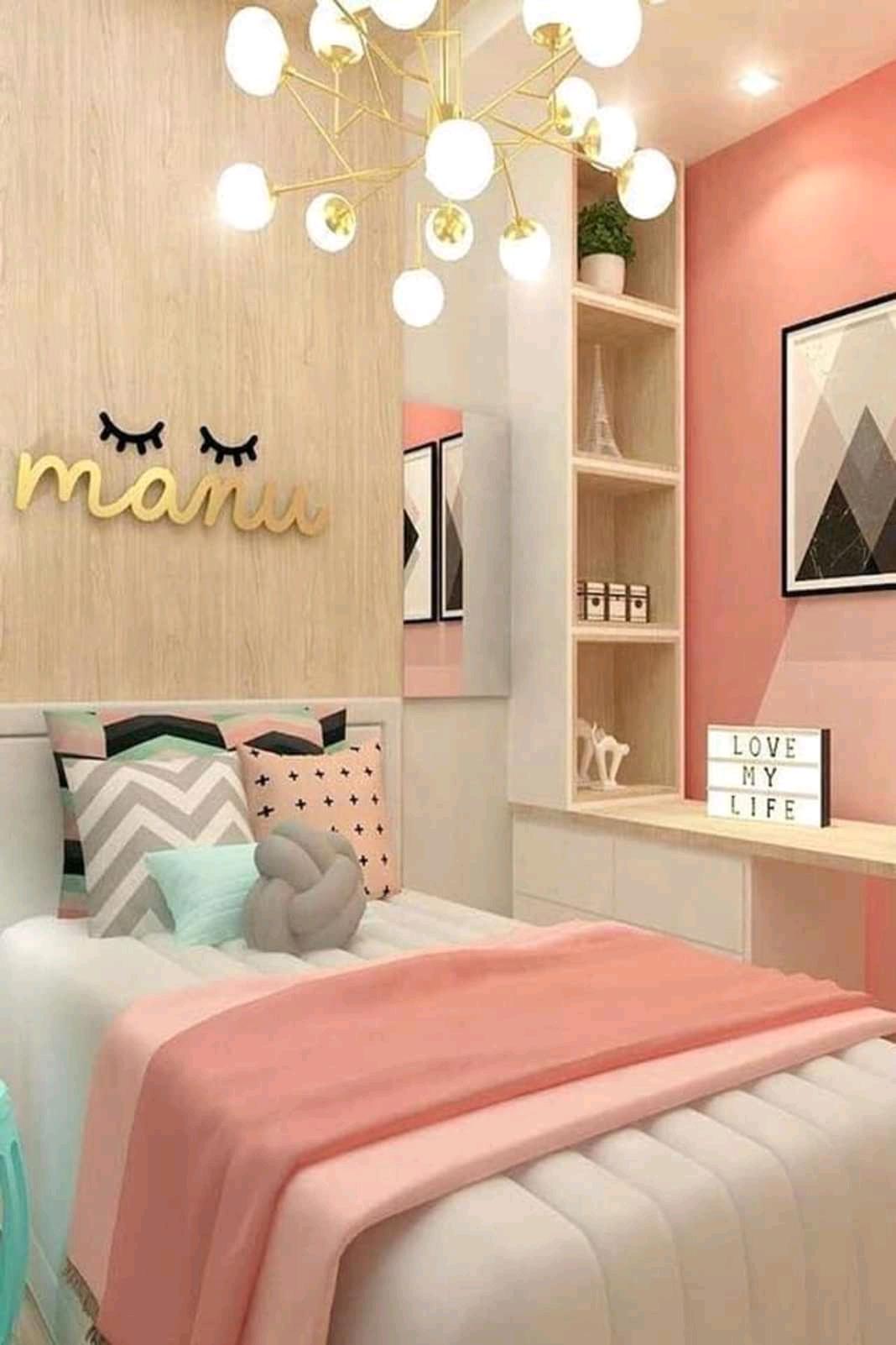 11 Ide Kamar Tidur Anak Bernuansa Warna Pink Bikin Betah